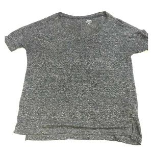 Plain gray tee